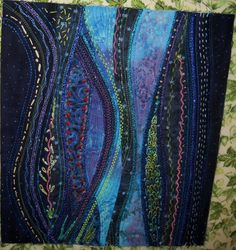 Looking for quilting project inspiration? Check out Stupendous Stitching by member Miz B.