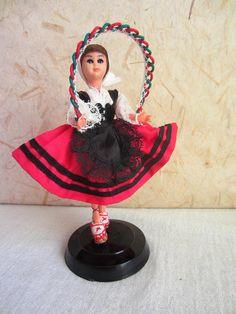 French Basque Country costume doll folk doll by plastickingdom