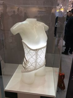 3D printed corset. Find more fashion at www.wamungo.com/3D-Printing-Fashion/
