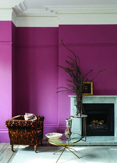 Expect some new adjectives to enter your colour vocabulary, because Farrow & Ball is adding nine new paint shades. Farrow & Ball new colours. Pink Bedroom Walls, Bedroom Paint Colors, Pink Room, Pink Walls, Room Colors, Pink Wall Paints, Hot Pink Bedrooms, Wall Colours, Bedroom Wallpaper