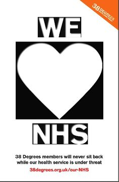 Stop the Government privatising the NHS