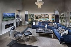 Living Room Ideas: Inspiring Styles Blue Living Room Ideas Royal Blue Living Room Ideas, What Color Goes With Blue, Color Schemes For Living Rooms ~ Livingroomidea.Com