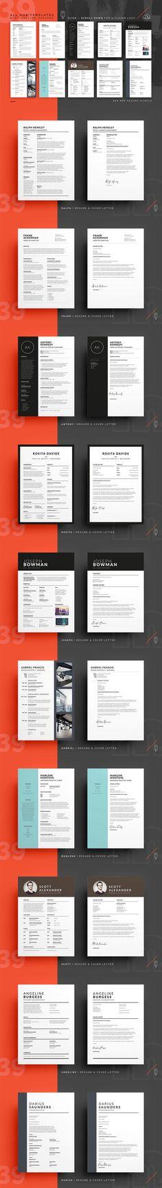 New Design Book Cover Resume Cv 29 Ideas Cv Cover Letter, Cover Letter Template, Letter Templates, Card Templates, Bookmark Template, Cv Template, Book Cover Design, Book Design, Design Typography