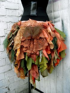 Items similar to High Low Skirt Forest Alice Mad Hatter Festival Viking Cosplay Hippy on Etsy Wonderland Costumes, Wonderland Party, Mad Hatter Costume Kids, Viking Cosplay, Rag Skirt, Peter Pan Costumes, Fairy Skirt, Toy Story Costumes, Kids Costumes Girls
