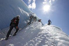 On top of the Folgefonna Glacier, Hardangerfjord region in Norway. www.folgefonni-breforarlag.no