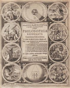 philosophia reformata mylius frontispiece
