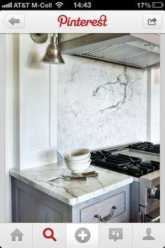 White marble. Sigh