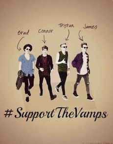 #SupportTheVamps || The Vamps
