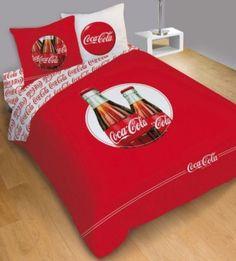 Linge DE LIT Parure Housse DE Couette 240x220cm ET Taies 63x63 Coca Cola Cool | eBay