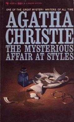 The Mysterious Affair at Styles by Agatha Christie.  Bantam edition.