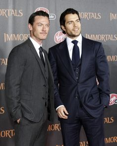 So Excited about Immortals! Luke Evans and Henry Cavill are Smokin!