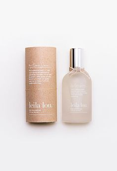 Description This irresistible scent of Leila Lou's signature perfume oil beautifully blended into an eau de parfum. With notes of pear, jasmine and fresh cut grass, Leila Lou is clean, fresh and total
