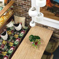 Uma casa com cara de férias. Veja: http://www.casadevalentina.com.br/blog/materia/com-cara-de-f-rias.html  #decor #decoracao #interior #design #simple #details #detalhes #dining #casadevalentina