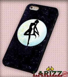 "Sailor Moon In The Glitter  for iPhone 4/4s, iPhone 5/5S/5C/6/6 , Samsung S3/S4/S5 Case ""005"""