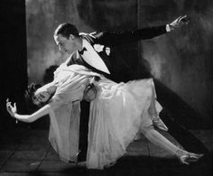 Fred Astaire dancing with his sister, Adele Astaire