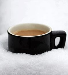 coffee in ice ( #coffee #snow ) ✌eace | H U M A N™ | нυмanACOUSTICS™ | н2TV™