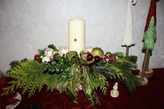 Adventsdekoration handmade