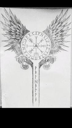 Viking Tattoo Sleeve, Viking Tattoo Symbol, Norse Tattoo, Viking Tattoo Design, Celtic Tattoos, Viking Tattoos, Sleeve Tattoos, Buddha Tattoos, Body Art Tattoos
