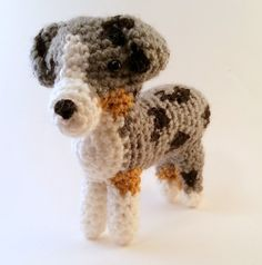 Check out this item in my Etsy shop https://www.etsy.com/listing/244925341/australian-shepherd-blue-merle-crocheted