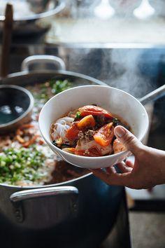 / Rick Poon - Vietnamese Fresh-Water Crab Noodle Soup