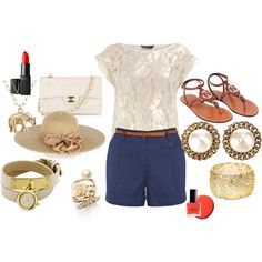 Summer, created by fastion101 on Polyvore