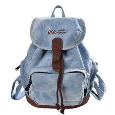 DGY Women's Canvas Backpack for College School Bag Daypack for Girls Travel Backpacks Buy New: $29.99 - $74.84