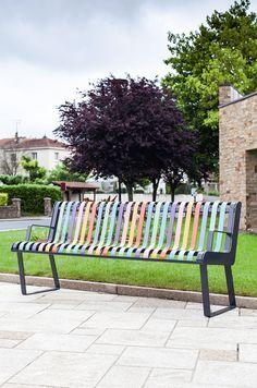 pastel urban furniture atech