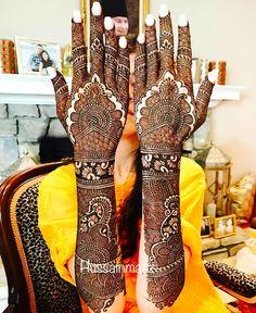 beautiful henna Mehandi Designs for brides-to-be Stylish Mehndi Designs, Beautiful Henna Designs, Latest Mehndi Designs, Henna Mehndi, Mehendi, Mehndi Design Pictures, Mehndi Images, Mehendhi Designs, Mehndi Desighn