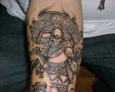 PB Book 2 - Inca Emperor Tattoo