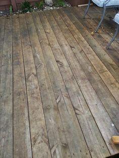 El Baúl de Viviana.: Renovando un Deck, look at my Deck!!!