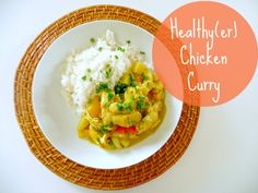 Domestic Bliss Squared: Healthy(er) and gluten-free yellow chicken curry