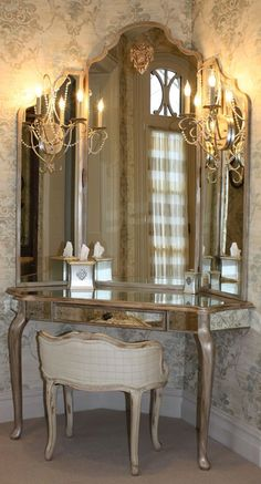 The Dressing Table has become an increasingly significant furniture piece in the contemporary bedroom or dressing room. Moreover, it is also a piece which is used on a daily basis, and aught to not only be visually pleasing, as well as practical. www.bocadolobo.com
