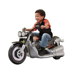 Fisher-Price Power Wheels Harley-Davidson Cruiser 12V Battery Powered Motorcycle