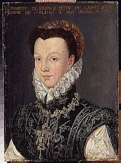 Isabel Valois, Anguissola Sofonisba.    Chateaux de Versailles et de Trianon, France.  Image source: www.photo.rmn.fr
