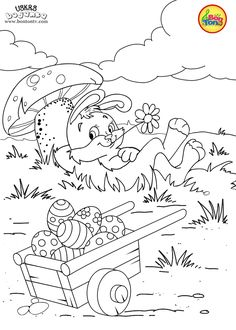 Easter coloring pages - Uskrs bojanke za djecu - Free printables, Easter bunny, eggs, chicks and more on BonTon TV - Coloring books Easter Coloring Sheets, Spring Coloring Pages, Easter Colouring, Printable Coloring Sheets, Cute Coloring Pages, Coloring Pages For Kids, Coloring Books, Disney Princess Coloring Pages, Disney Princess Colors