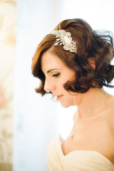 Headband by Untamed Petals. Photography by Brklyn View Photography / brklynview.com