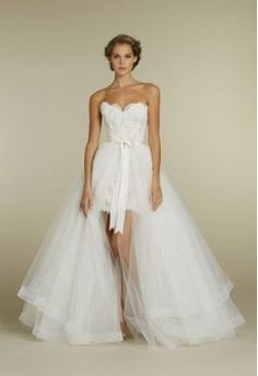 Finally found the ACTUAL link to buy this - Tulle Sweetheart with Ethereal Layered Skirt Ball Gown Hot Sell 2 in 1 Wedding Dress