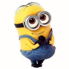 Awwwww. So cute!!!!!!!!!!!! (In a minion way)