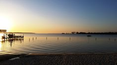 Sunrise over the Choctawhatchee Bay