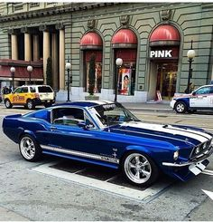 1967 Ford Mustang Fastback, one of the two muscle cars I would buy Ford Mustang Fastback, Shelby Mustang, Shelby Gt500, Mustang Cars, 1967 Mustang, Blue Mustang, Ford Mustang Shelby, Cool Muscle Cars, Cool Cars