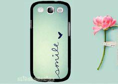 Smile Galaxy S3 Case Galaxy S4 Case Samsung by AlibabaDesign, $10.99