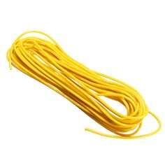 10 Lots 5 Meters/Lot Yellow 300V Super Flexible 22AWG Copper PVC Insulated Wire LED Electric Cable UL RoHS Compliant