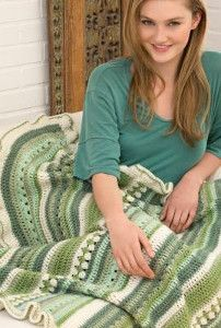 Country Fields Throw | AllFreeCrochetAfghanPatterns.com