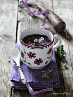 Just what I needed a herbal Tea I Love Coffee, Coffee Art, Coffee Cups, Good Morning Coffee, Coffee Break, Café Chocolate, Tea And Books, Coffee Photography, All Things Purple