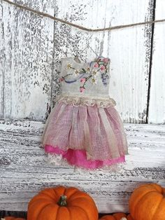Blythe doll outfit OOAK  *French countryside* Grungy-chic outfit Autumn collection