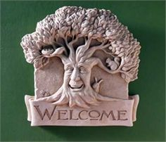 Woodland Welcome -- Carruth Studio: Waterville, OH Garden Studio, Garden Art, Pottery Videos, Clay Tiles, Quirky Gifts, Fairy Doors, Funky Fashion, Woodland, Sculpting