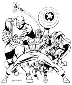 Guarda tutti i disegni da colorare degli Avengers www.bambinievacanze.com