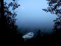 A foggy lake. Mysterious, Finland, Mystery, Landscapes, Celestial, Sunset, Night, Photography, Outdoor