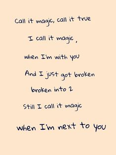 Love these lyrics and song Coldplay~magic Love Songs Lyrics, Lyric Quotes, Music Lyrics, Me Quotes, Frases Coldplay, Coldplay Magic, Music Love, Good Music, Beautiful Lyrics
