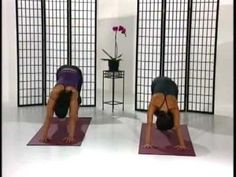 Great yoga session to build strength.